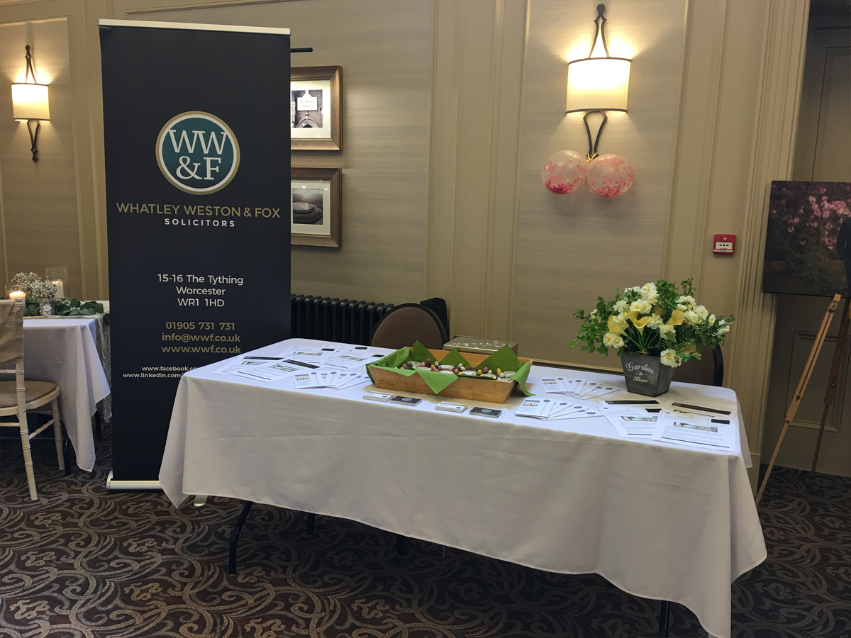 , WWF attends Wedding Fayre at Stanbrooke Abbey